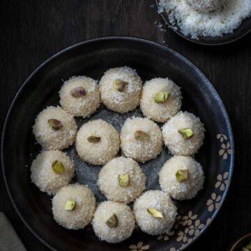 Easy Coconut Ladoo recipe