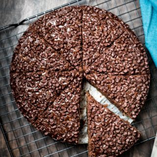 Eggless Chocolate Banana Cake