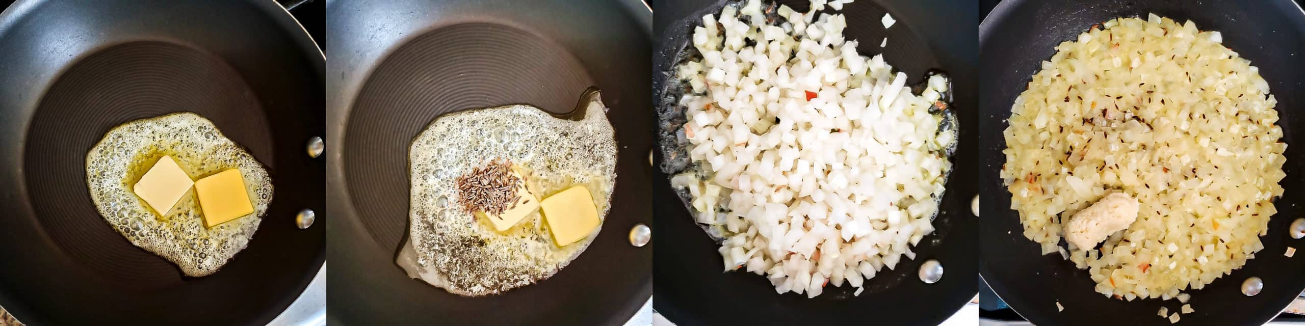 Step 1 - Cheesy Garlic Masala Pav Sliders