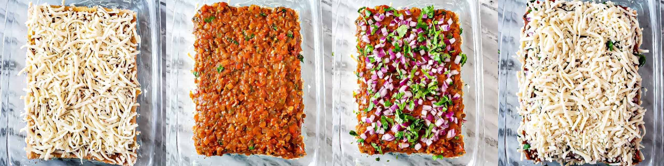 Step 4 - Cheesy Garlic Masala Pav Sliders