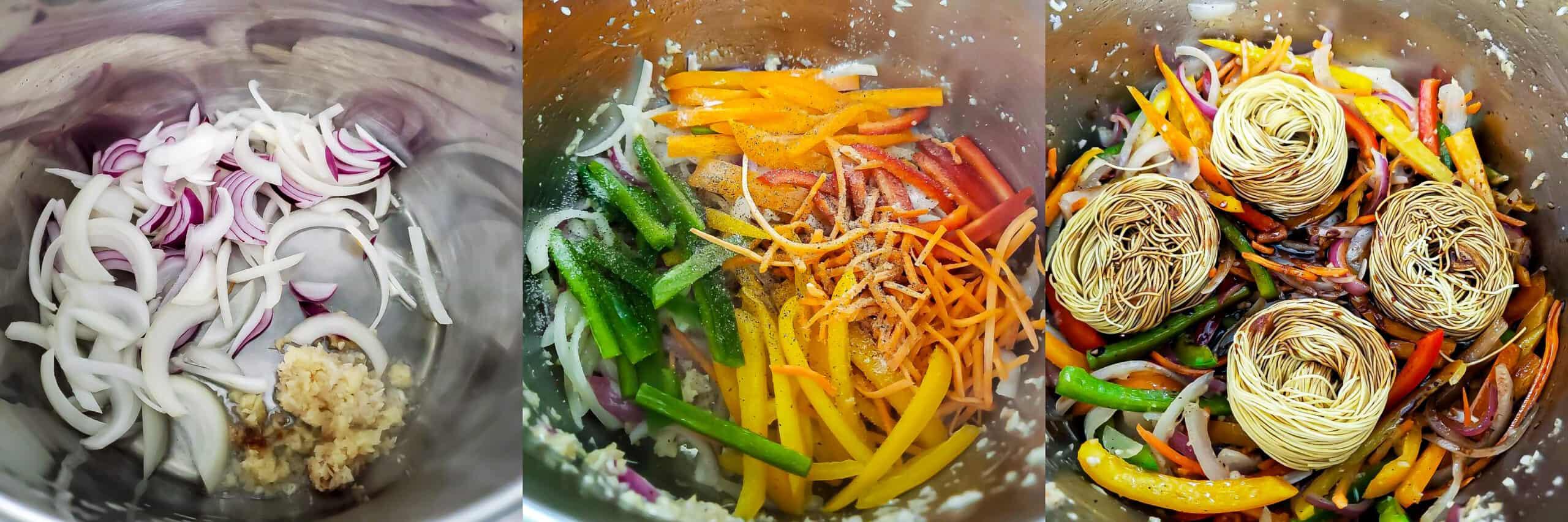 Teriyaki Noodles - Step 1