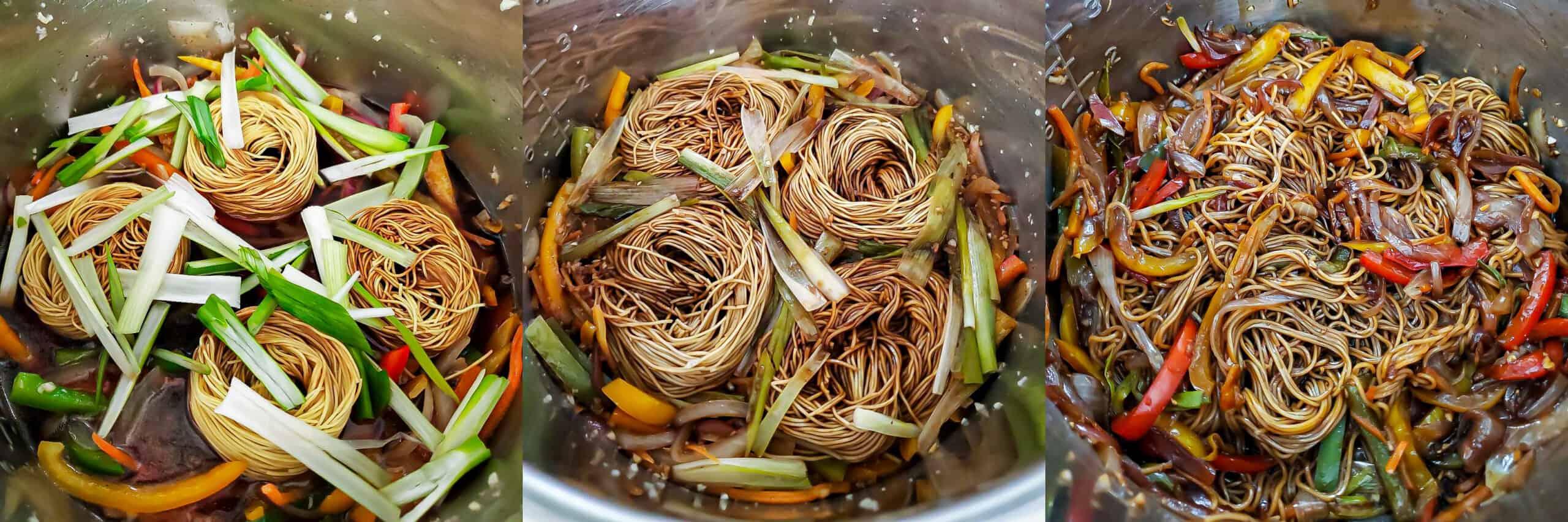 Teriyaki Noodles - Step 2