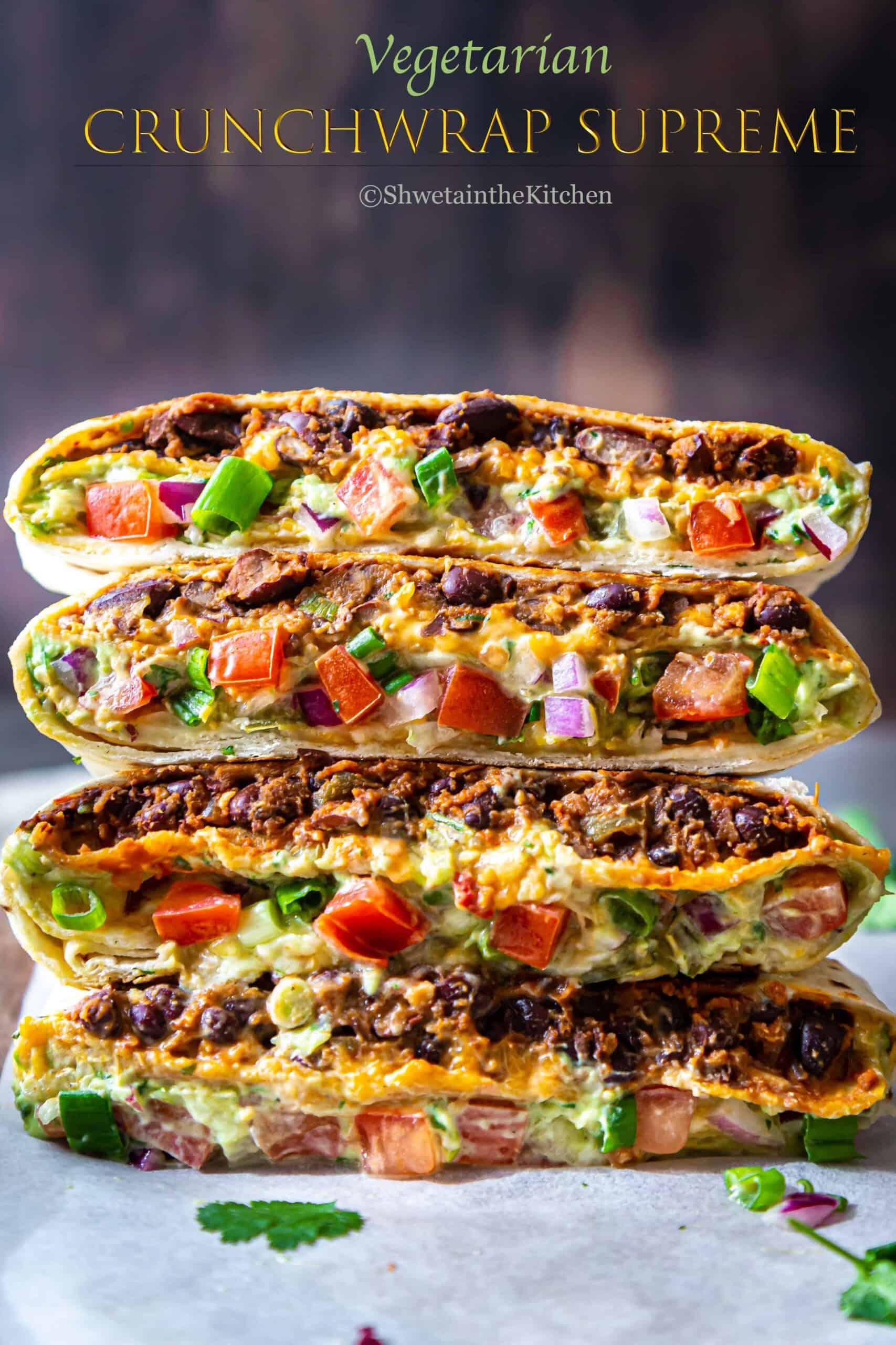 Vegetarian Crunchwrap Supreme