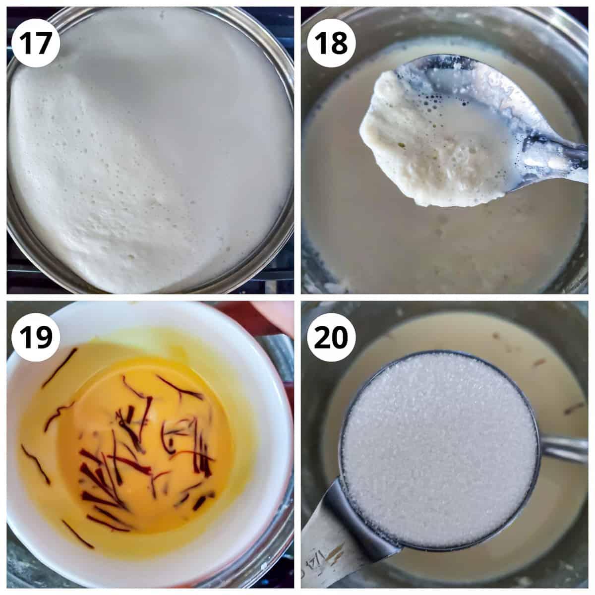 Bioling milk for Rabri