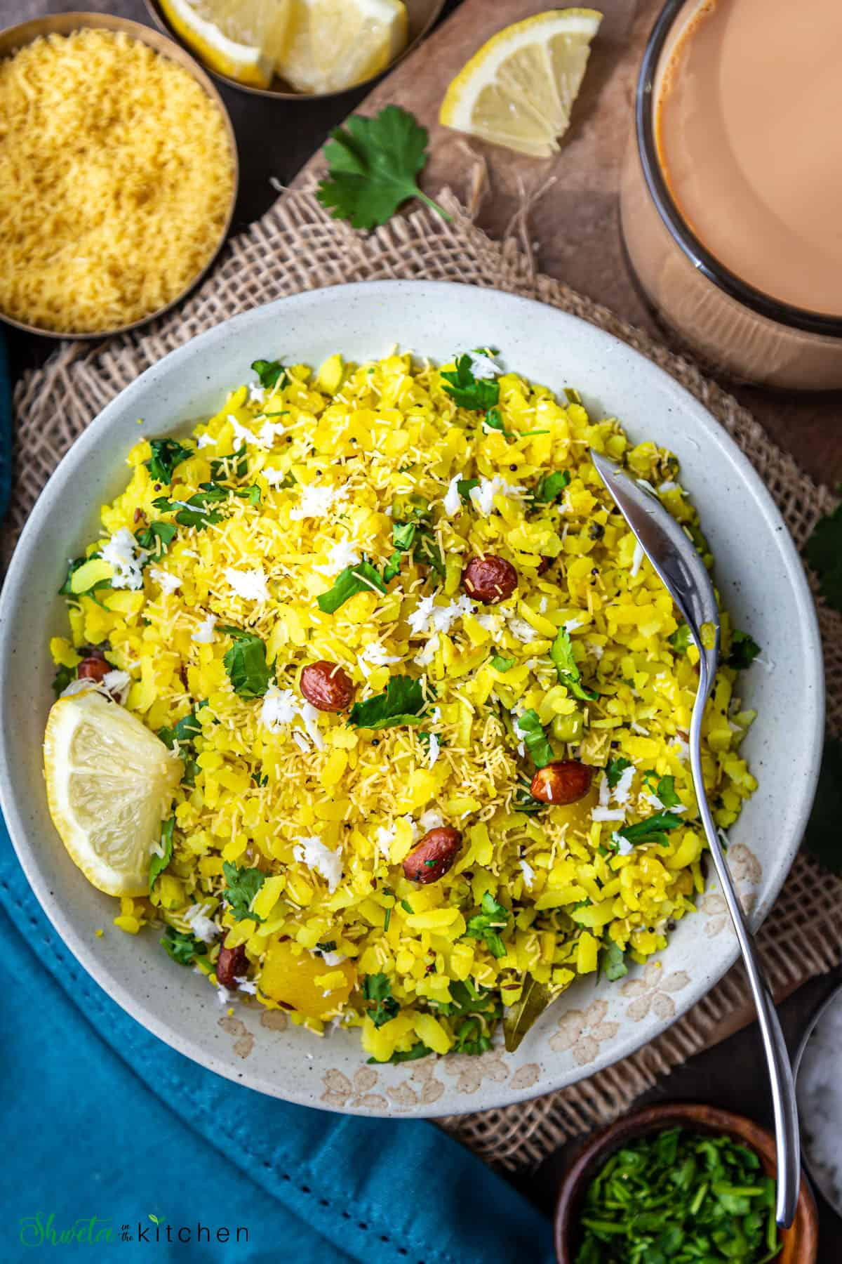 Poha Recipe - Shweta in the Kitchen